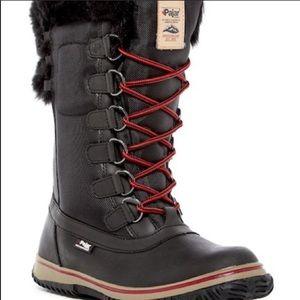Pajar Ice Hi Waterproof Faux Fur Boot For Women